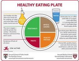Healthy eating plate Harvard
